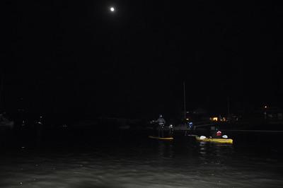 Moonlight Paddle tour