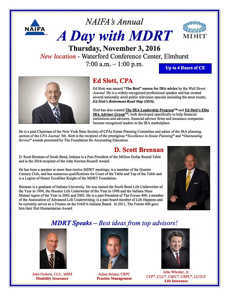 A Day with MDRT 11-3-16 - registration