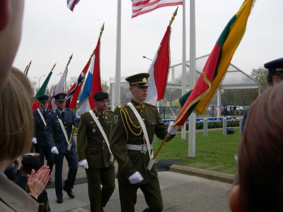 NATO, Induction Ceremony for Seven New Member Countries, March 2004