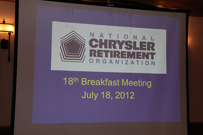 NCRO Meeting 2012 07 18