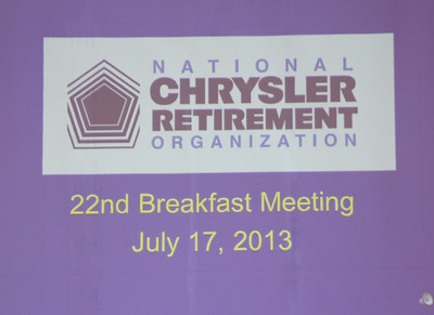 NCRO Meeting 2013 07 17