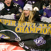 20 January 2013. A hopeful Ravens Fan postgame.   The Baltimore Ravens defeated the New England Patriots 28 to 13 in the AFC Championship Game in Gillette Stadium in Foxboro, Massachusetts. <br /> (c) Tom Croke/Visual Image Inc.