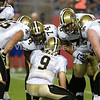 Drew Brees/Huddle - New Orleans Saints