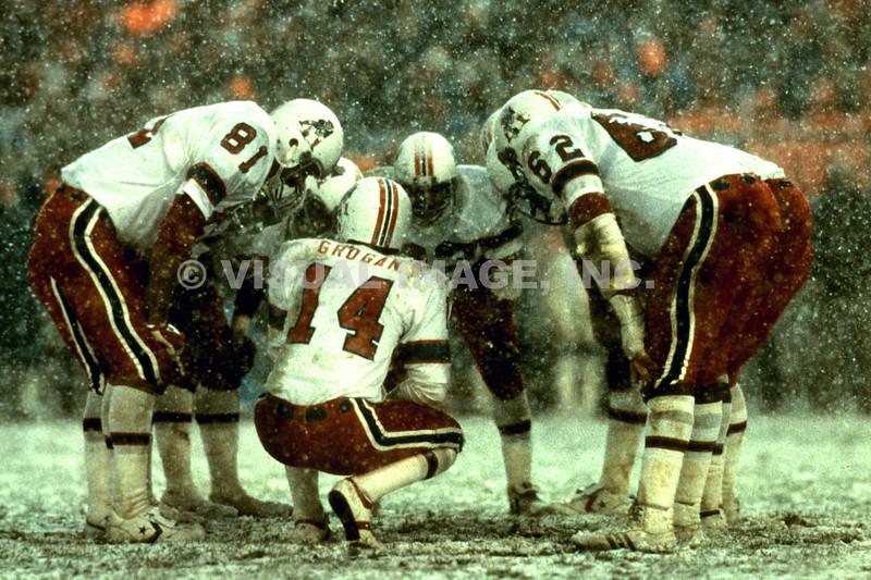 Huddle - New England Patriots
