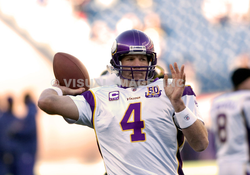 Brett Farve - Minnesota Vikings