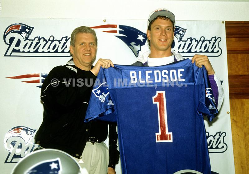 Bill Parcells/Drew Bledsoe - New England Patriots