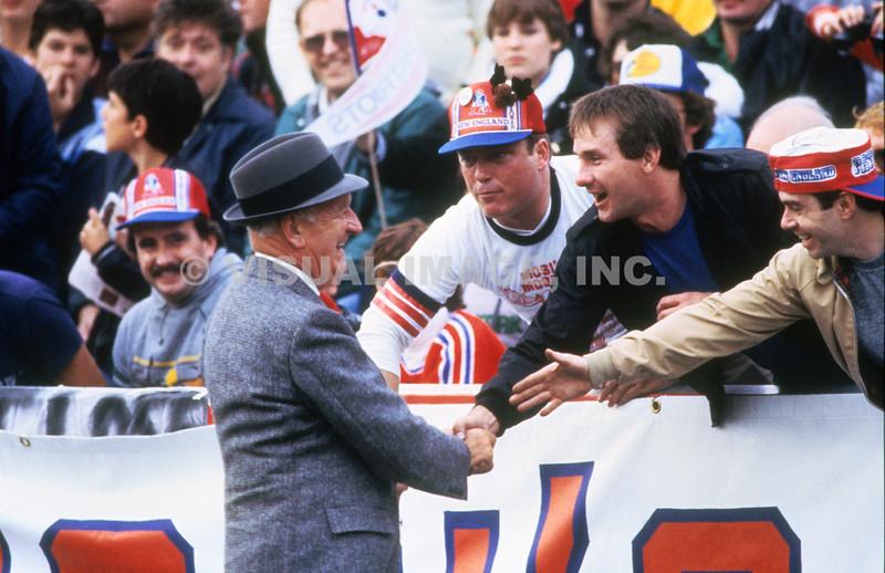 Billy Sullivan Greeting Fans