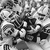 Roland James/Lawrence McGrew - New England Patriots  Thurman Thomas/Petre Metzelaars - Buffalo Bills