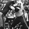 Russ Mikeska/Atlanta Seahawks; Mike Hawkins/New England Patriots