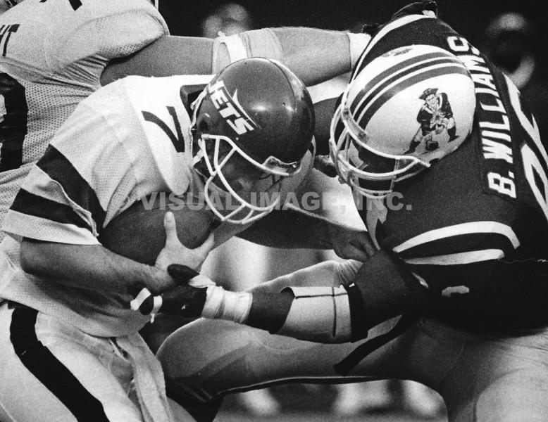 Brent Williams - New England Patriots  Ken O'Brien - New York Jets