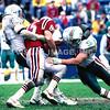 John Offerdahl/Cliff Oadm - Miami Dolphins/Marv Cook - New England Patriots