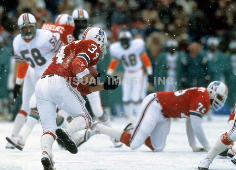 Mark VanEagan/New England Patriots - Snow Game