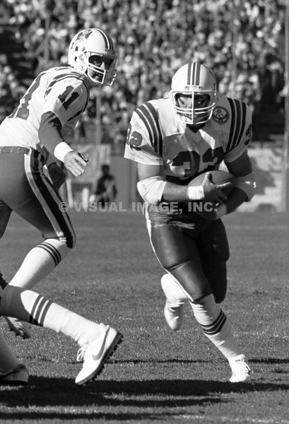Craig James/Tony Eason - New England Patriots