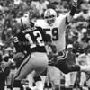 Mike Hawkins - New England Patriots/Ken Stabler - Oakland Raoders
