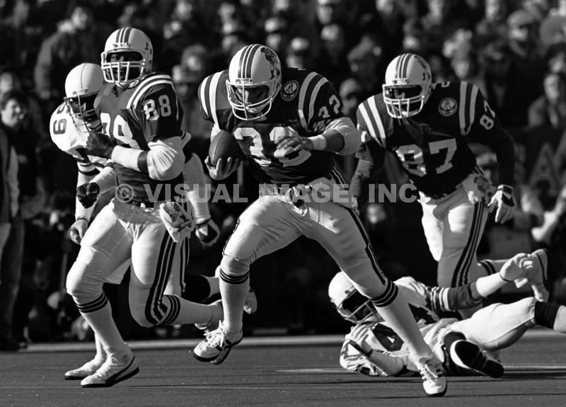 Craig James/Lin Dawson/Derrick Ramsey - New England Patriots