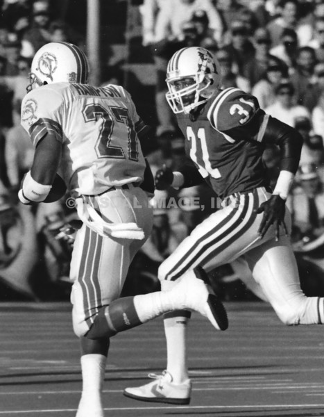 Fred Marion - New England Patriots    Lorenzo Hampton - Miami Dolphins