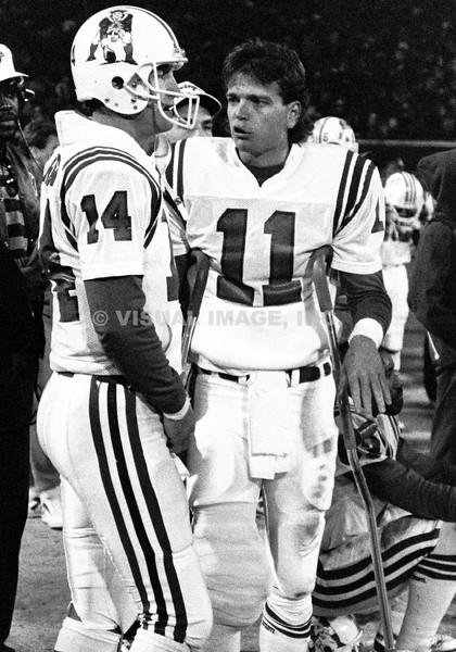 Steve Grogan/Tony Eason - New England Patriots