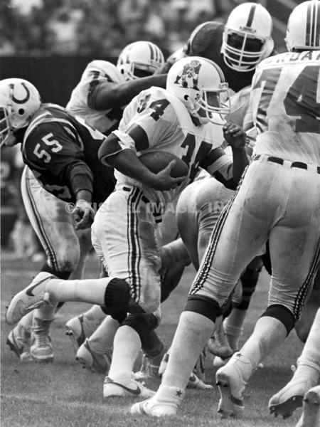 Mark Van Eaghen -  New England Patriots