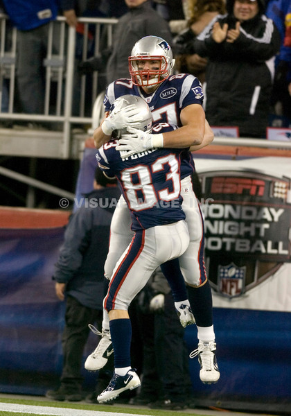 Rob Gronkowski/Wes Welker  -  New England Patriots