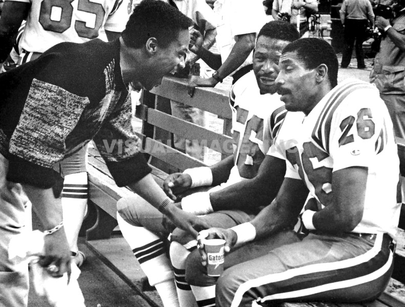 Andre Tippet/Raymond Clayborn/Tony Collins - New England Patriots
