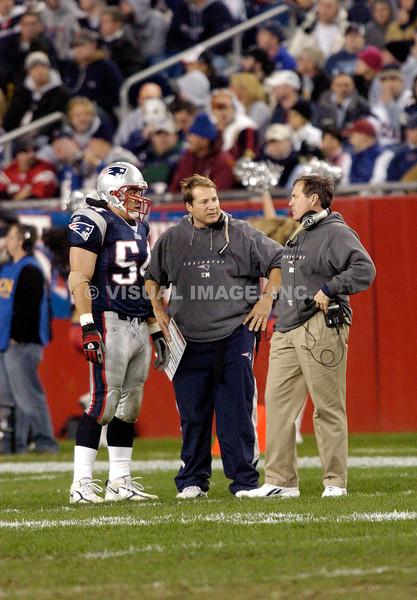 Tedy Bruschi - New England Patriots