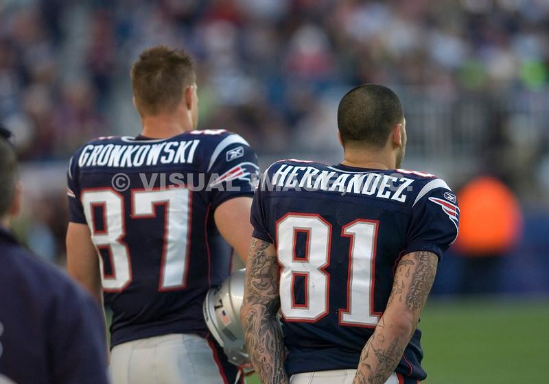 Rob Gronkowski/Aaron Hernandez - New England Patriots