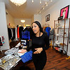 Owner Natalia Fernandes, 30, talks about her store, Nati Celebrity Styles Boutique, located at 18 Central St. in Leominster, Thursday.<br /> SENTINEL & ENTERPRISE / BRETT CRAWFORD
