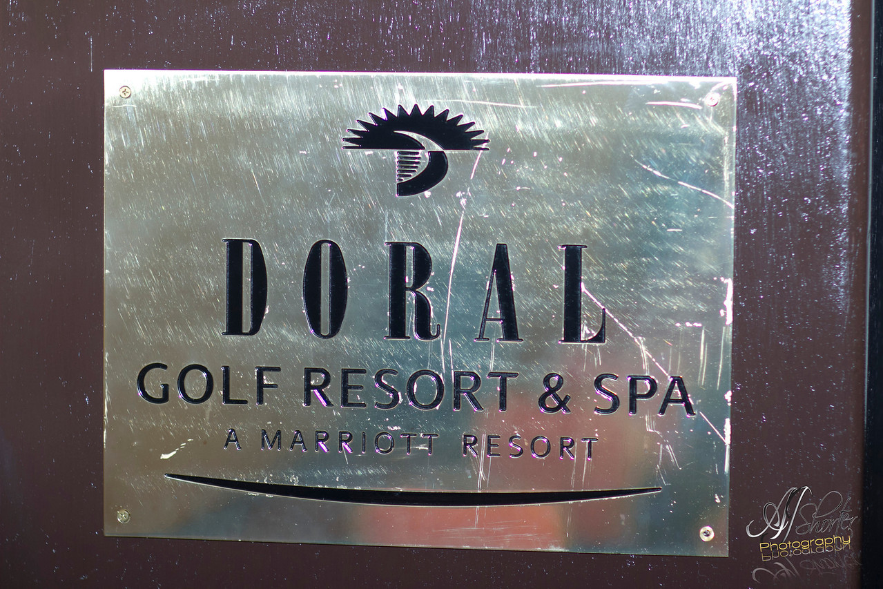 Celebration the Past & Embracing Our Future 25 Years of Excellence<br /> Marriott; Doral Resort PGA Golf Course luxury resort located in Miami, Florida