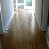 refinished hallway