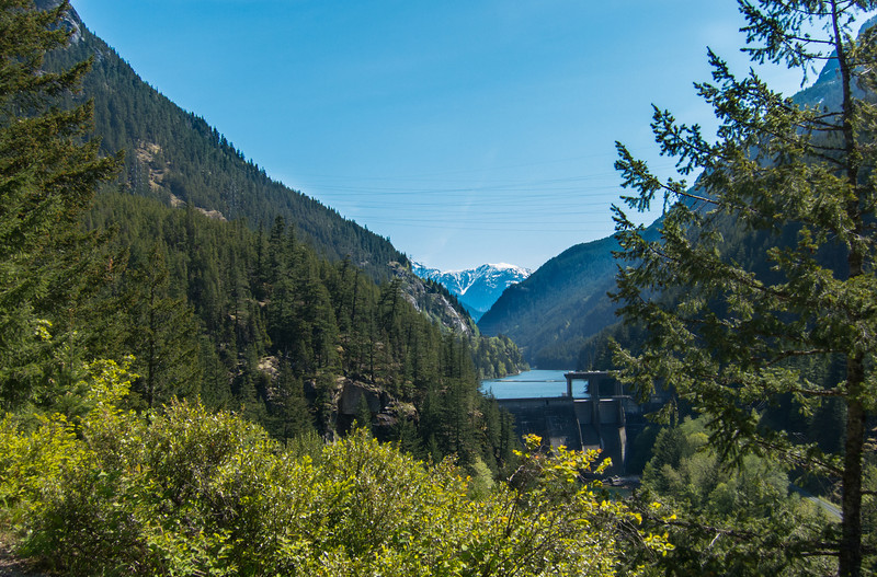 North Cascades Highway approach to Washington Pass