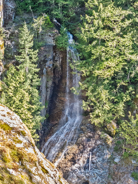 The Cascades' name is derived from...