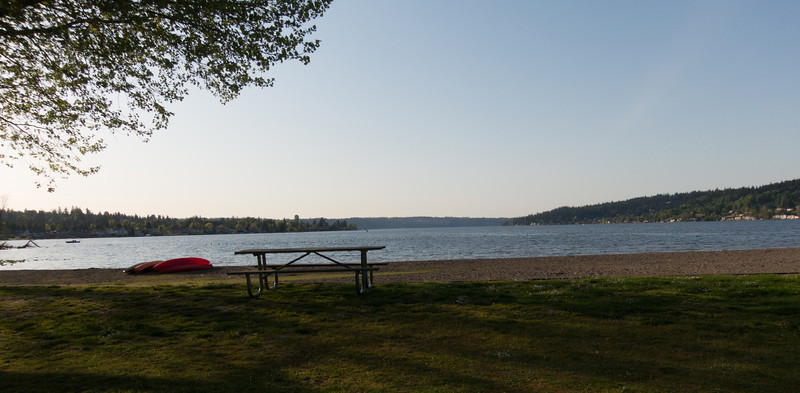Beach & Boat Launch Area at Lake Sammamish State Park
