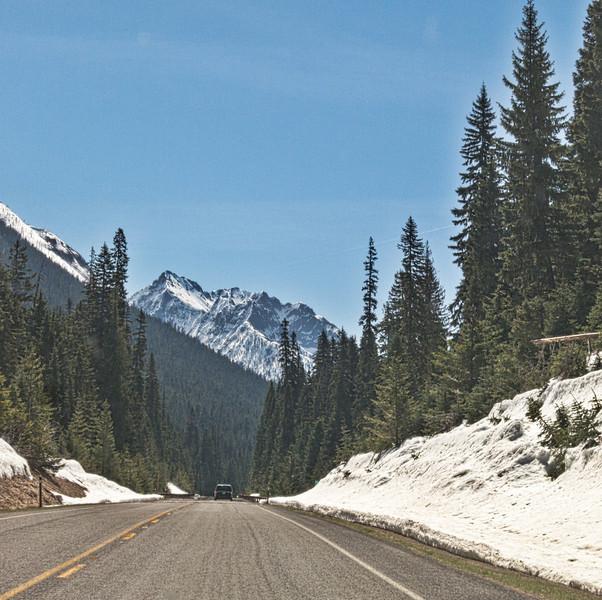 Washington Pass - opened a couple days before I drove through