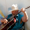 Cowboy folk singer Johnson at 49er Days Festival