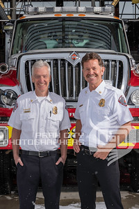 Chief Hewitt and Bob Zanetti