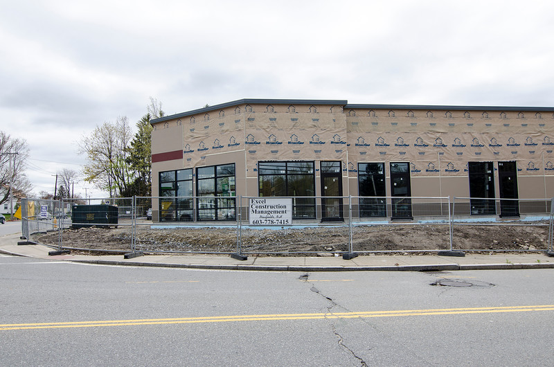 Construction of a new business space remains ongoing at the location of the former Weathervane Restaurant in Leominster. SENTINEL & ENTERPRISE / Ashley Green