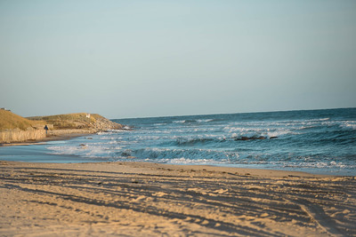 Ditch Plains in Montauk; NY  The beach in Montauk with a long term surfer hangout (c) Jennifer Heffner Photography