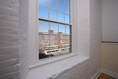 North Dam Mill apartments - View from master bedroom.