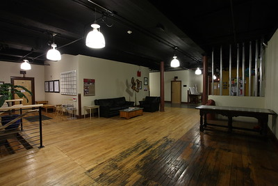 Lobby facing Brown Fox Printing