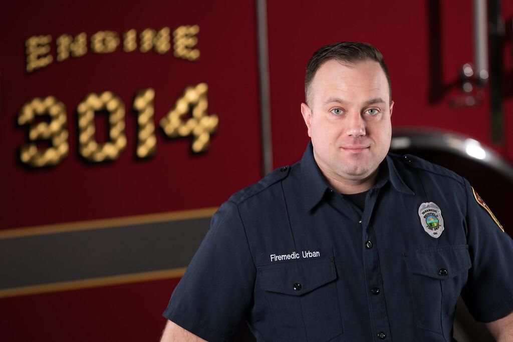 Firemedic Kevin Urban