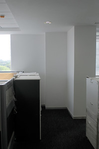 West wall.  To the left is the CEO Cabin