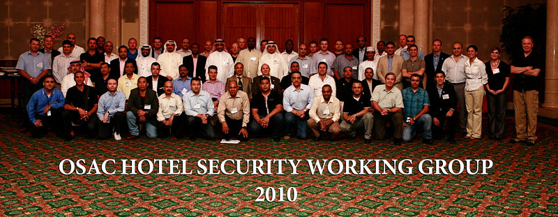 OSAC HOTEL SECURITY WORKING GROUP 2010