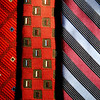 Background of men's ties.