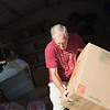 The Orphan's Heart program packing up materials to ship overseas.  Florida Baptist Children's Homes.