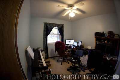the office room, it's a bit messy, as is most of my house right now