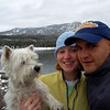 Andy, Mckinley and I exploring Hyalite Reservoir, Bozeman Montana