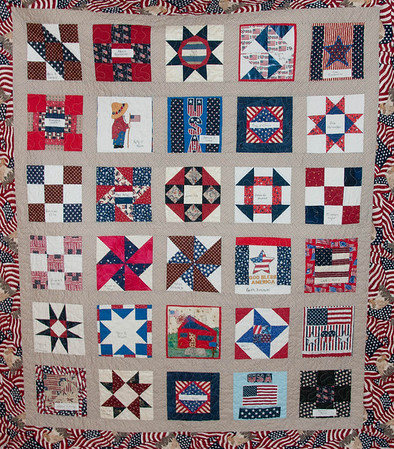 Our Fallen Heroes Quilt 10