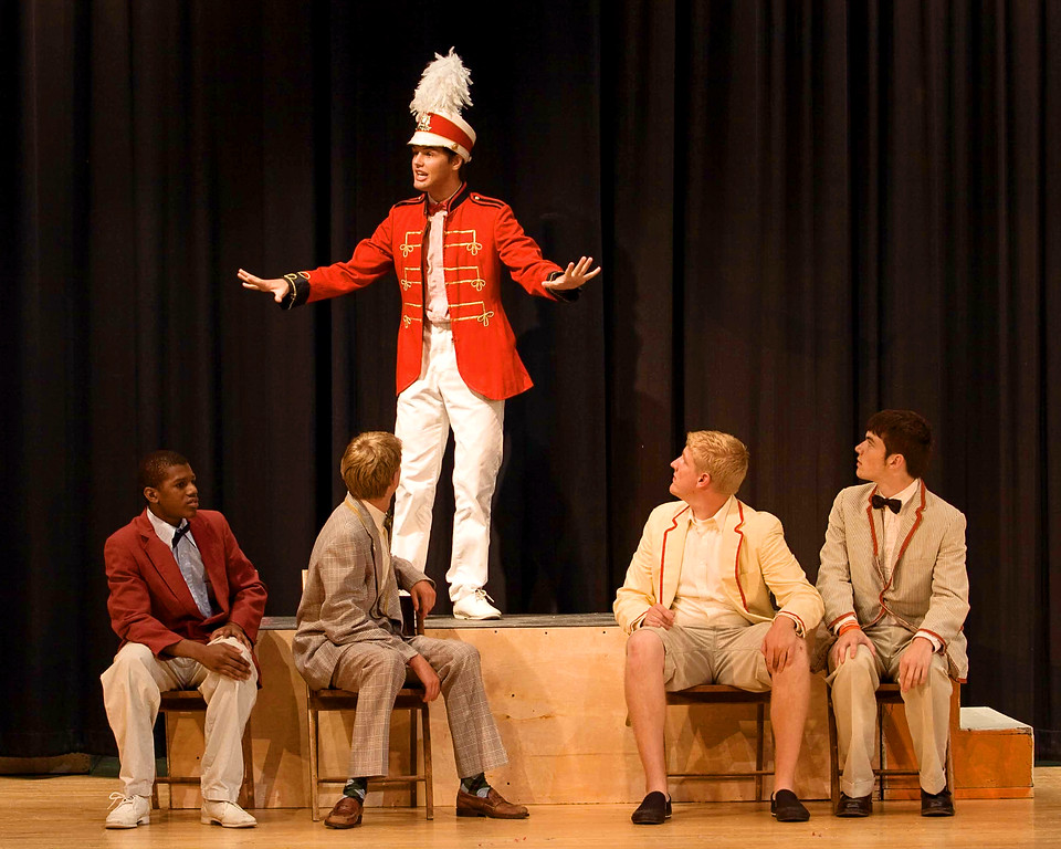 """from 2007 the Normal Parks & Rec Summer Theatre production of """"The Music Man""""."""
