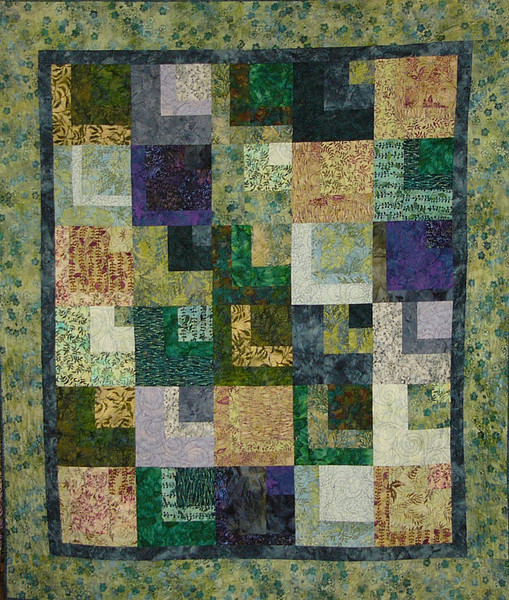 Jungle Fever. Quilt pieced and Machine quilted by Corinne Schroeder<br /> pattern and fabrics available while suppllies last