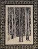 Aspen Trees by Corinne Schroeder<br /> <br /> Pattern, kit and class available